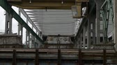 sleepers : Factory warehouse overhead crane