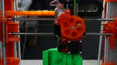 3D printing - Modern digital production of 3D models. Wideo
