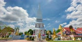 fiel : (Phra That Tha Uthen) Famous old relics that have been with Nakhon Phanom for a long time and beautiful architecture.thailand Vídeos