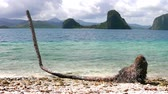 busuanga : The coast of the tropical island. El Nido. Philippines.