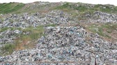 urban waste : City dump panorama