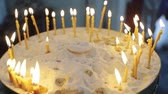 nupcial : Many Candles in the church