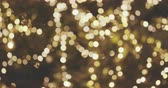 сочельник : Abstract Blurred Christmas Lights Bokeh Background. Blinking Christmas Tree Lights Twinkling. Winter Holidays Concept.