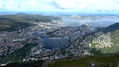 Bergen is a city and municipality in Hordaland on the west coast of Norway. Stock Footage