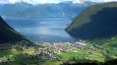 Vik is a municipality located in Sogn og Fjordane county, Norway. It is located on the southern shore of the Sognefjorden in the traditional district of Sogn. Wideo