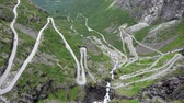 Trollstigen is a serpentine mountain road at Rauma Municipality, More og Romsdal county, Norway.