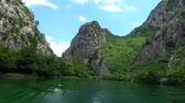 река : Cetina is a river in Southern Croatia and flows into the Adriatic Sea.