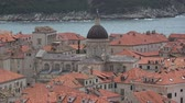 adriai : Dubrovnik is a Croatian city on the Adriatic Sea. It is one of the most prominent tourist destinations in the Mediterranean Sea. Stock mozgókép