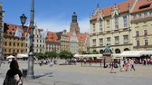 sightseeing : Market Square in Wroclaw - Poland