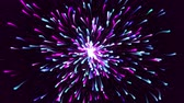 poussière d etoiles : Colorful Particle explosion Flow Relaxing Background slow zoom in. It Can Be Used in VJ Loops and Screen Saver Also.