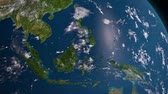 earth : Earth 3d view from space. South East Asia
