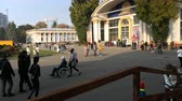 freizeit : Kiew, Ukraine, Oktober 2018: - Expo Center in Kiew. Stock Footage