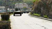 combatant : Armored Personnel Carriers Moving. Stock Footage