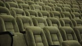 auditório : Empty rows of theater, concert hall or movie seats
