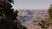 gran apertura : Beautiful panoramic background shot of epic sunny mountains at amazing Grand Canyon national park observation view point