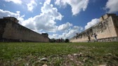 chichen : Chichen Itza, Time Lapse of ancient Mayan ball game stadium Ring