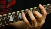 authentisch : Close up scene, fixed, man playing on electrical guitar Videos
