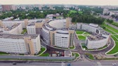 petersburg : Clinical infectious diseases hospital Botkin in the city of Saint-Petrsburg. Aerial view