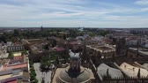 maryja : Seville, Andalucia, Spain - April 18, 2016: Cathedral of Seville panoramic view of the Giralda bell tower (Ultra High Definition, UltraHD, Ultra HD, UHD, 4K, 2160P, 3840x2160)