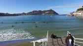 concha : Donostia-San Sebastian, Basque Country, City, Spain. The La Concha beach, panoramic view.