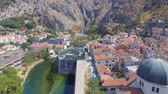 Aerial View Of Kotor Old Town and Mountains, Montenegro 2