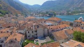 Aerial View Of Kotor Old Town and Bay, Montenegro 3