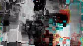 screens : Digitally generated distorted television screen
