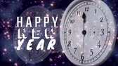 mezzanotte : Composito digitale di Happy new year