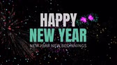 cg graphics : Digital composite of Happy new year
