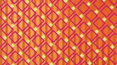 brilhar : Digital animation of square patterns changing colors from pink and yellow with a background of vertical lines