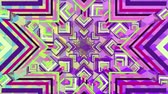 görüntüleri : Digital animation of mandala abstract image with different shapes and patterns. Stok Video