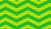 оберточной бумаги : Animation of green zig zag Christmas pattern with light green moving stripes in the background Стоковые видеозаписи