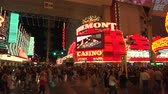 fãs : 4K ES: Binions Casino and the Fremont Hotel on Fremont Street Las Vegas. Circa 2016 - Sony FS5 4k UHD 30p Native Resolution
