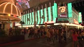 fãs : 4K ES: Binons Casino on Fremont Street Las Vegas. Circa 2016 - Sony FS5 4k UHD 30p Native Resolution Stock Footage
