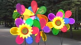 oddech : Colorful Pinwheels or Windmill Rotates in the Wind