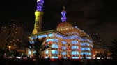 sharjah : United Arab Emirates, Sharjah - February 06, 2014: Sharjah Light Festival.