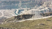 pit mine : Quarry for the extraction of rubble aerial survey