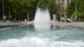 serbia : Fountain on Square on a sunny day in belgrade serbia