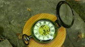 old time : Pocket Watch closeup