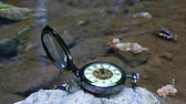 cep : Pocket watch with river in background