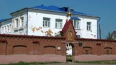 dying : Alapaevsk, Russia - 17 July 2012: St. Elisabeth Convent. Historical religious place of residence family of Russian Emperor Nicholas II great princes of Romanovs before their execution.