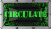 obíhat : circulate announcement on the LED display