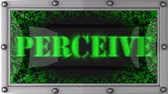 perceive : perceive  announcement on the LED display