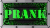 travessura : prank announcement on the LED display