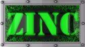 zinco : zinc  announcement on the LED display