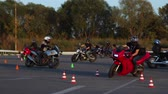 motorcyclists : Motorcycle Driving Lessons Moto Gymkhana Motorcyclists