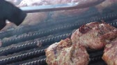 chargrilled : On iron grill prepared hamburgers