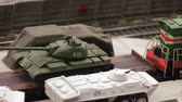maket : Transporting tanks on military base