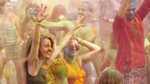 ethnology : Holi Colors Festival Stock Footage
