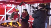 ortodoxo : Folk holiday Maslenitsa Stock Footage